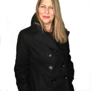 Michael Kors women's double breasted pea coat XL